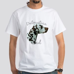 Dalmatian Dad2 White T-Shirt