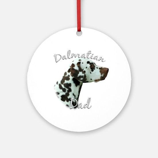 Dalmatian Dad2 Ornament (Round)