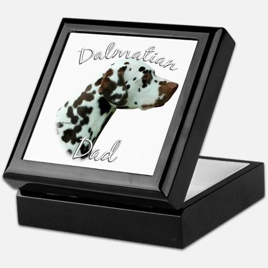 Dalmatian Dad2 Keepsake Box