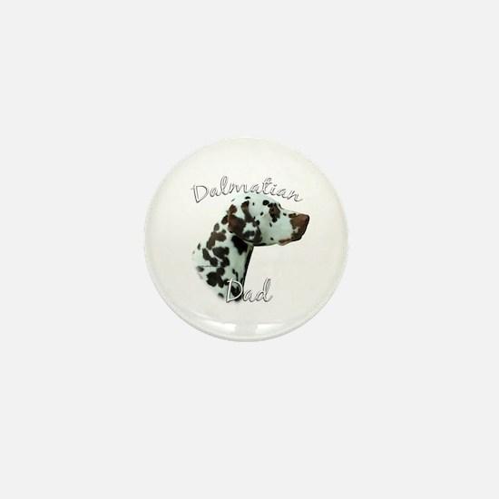 Dalmatian Dad2 Mini Button