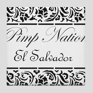Pimp Nation El Salvador Tile Coaster