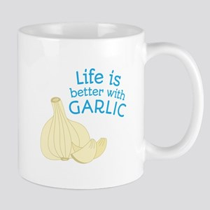Better With Garlic Mugs