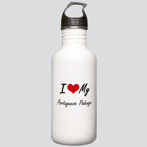 I love my Portuguese P Stainless Water Bottle 1.0L