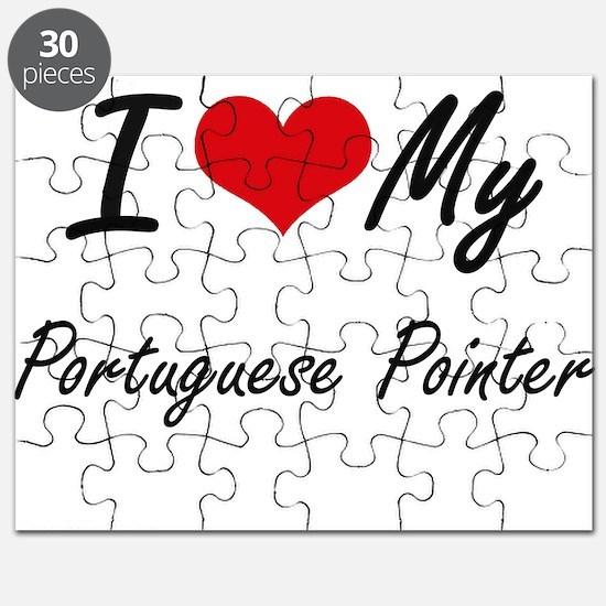 I love my Portuguese Pointer Puzzle