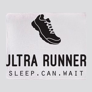 Ultra Runner Throw Blanket