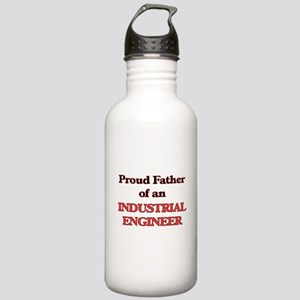 Proud Father of a Indu Stainless Water Bottle 1.0L