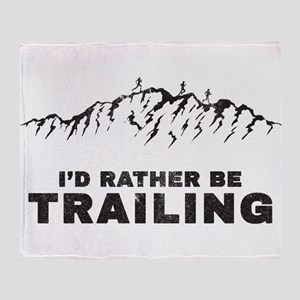 Trail Runner Throw Blanket