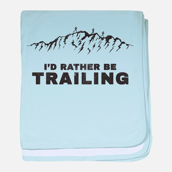 Trail Runner baby blanket