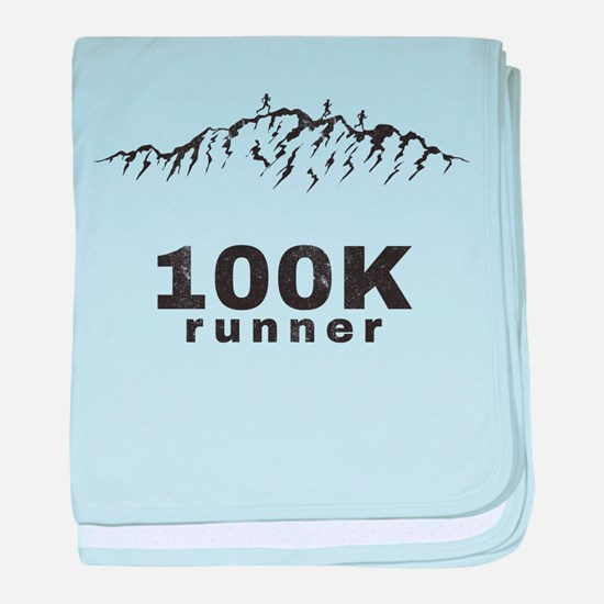 100K Ultra Runner baby blanket