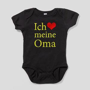 I Love Grandma (German) Body Suit