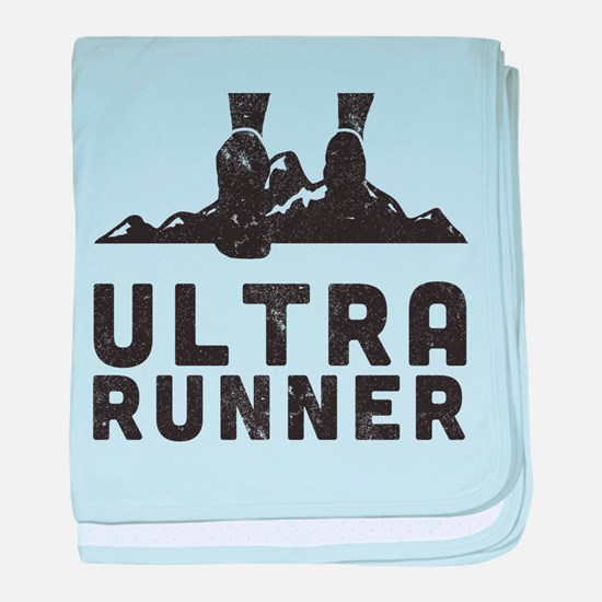 Ultra Runner baby blanket