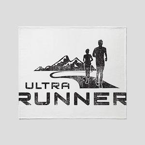 Ultra Runner Throw Blanket