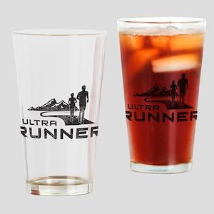 Ultra Runner Drinking Glass