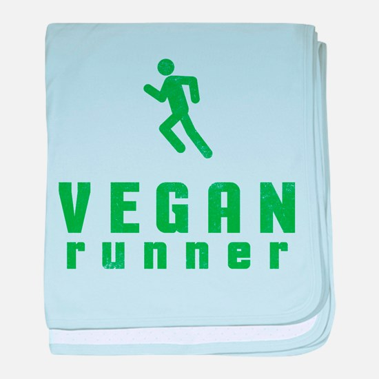 Vegan Runner baby blanket