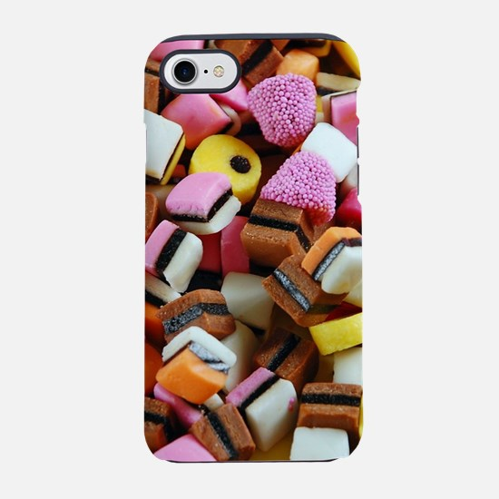 Colorful licorice candy iPhone 8/7 Tough Case