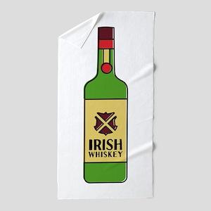 Irish Whiskey Beach Towel