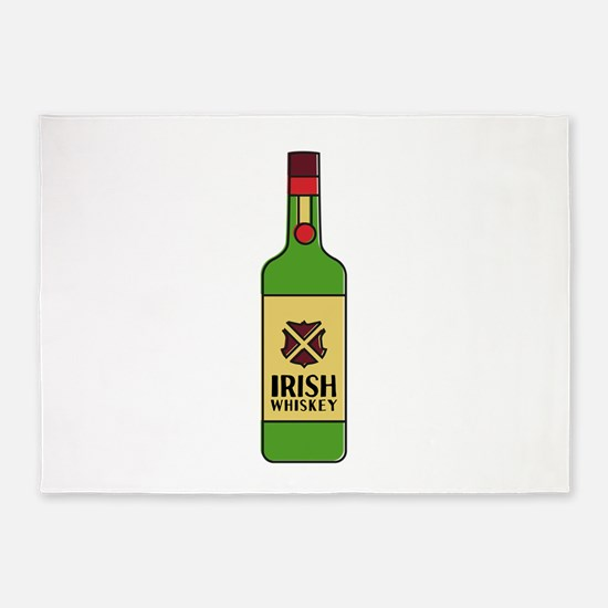 Irish Whiskey 5'x7'Area Rug