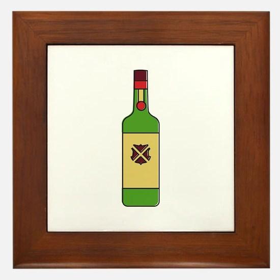 Irish Whiskey Framed Tile