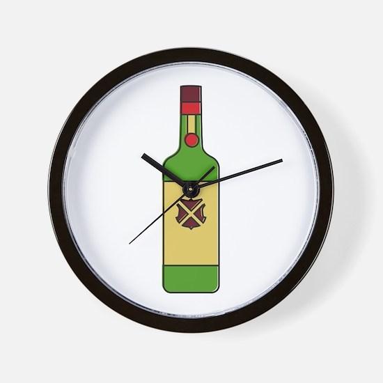 Irish Whiskey Wall Clock