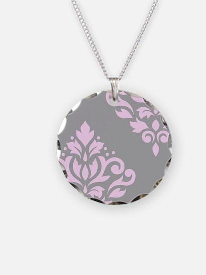 Scroll Damask Art I PG Necklace