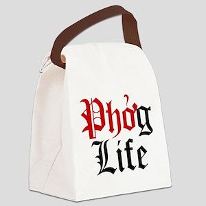 Phog Life Canvas Lunch Bag