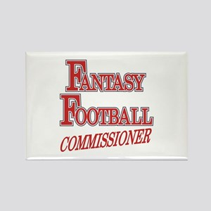Fantasy Football Commissioner Rectangle Magnet