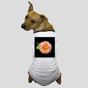 Orange Rosa Rose Dog T-Shirt