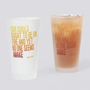 Susan B Anthony Quote Drinking Glass