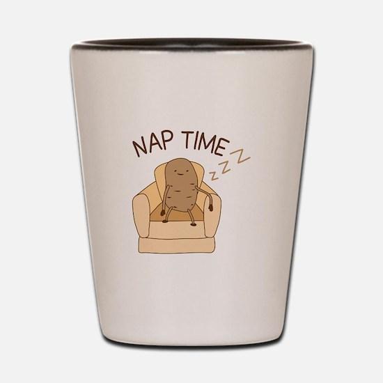 Nap Time Shot Glass