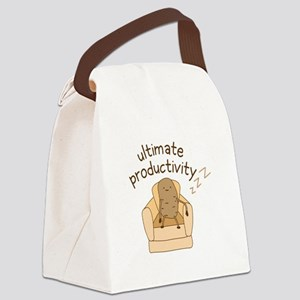 Productivity Potato Canvas Lunch Bag