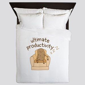Productivity Potato Queen Duvet
