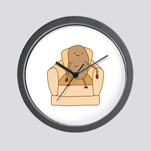 Couch Potato Wall Clock