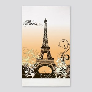 Eiffel Tower Paris Area Rug