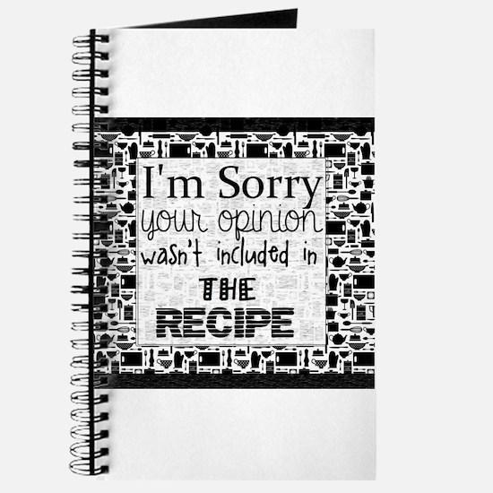 kitchen humor Journal