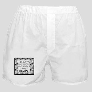 kitchen humor Boxer Shorts