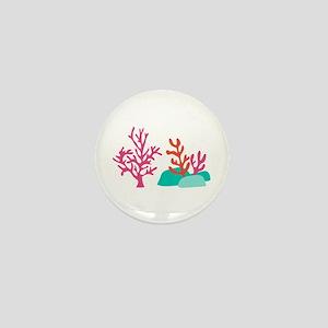 Sea Coral Mini Button