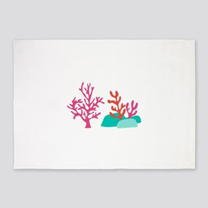 Sea Coral 5'x7'Area Rug