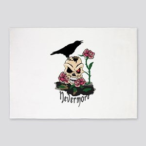 Raven Nevermore 5'x7'Area Rug