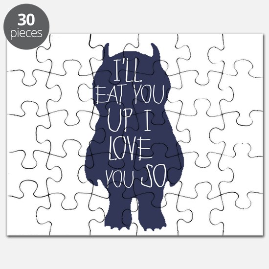 I'll eat you up I love you so Puzzle