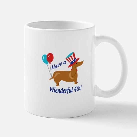 Have A Wienderful Fourth Mugs