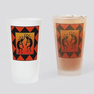 Southwest Design Kokopelli Drinking Glass