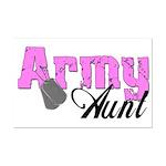 Army Aunt  Mini Poster Print