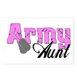 Army Aunt Postcards (Package of 8)