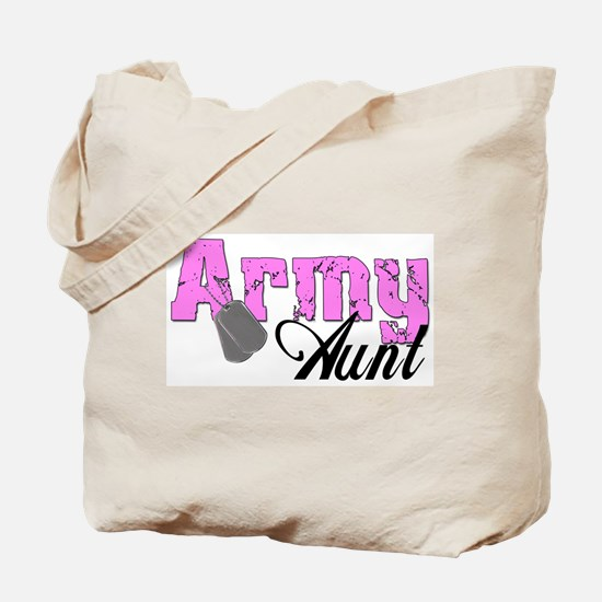 Army Aunt  Tote Bag