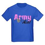 Army Aunt Kids Dark T-Shirt