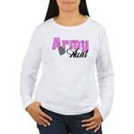 Army Aunt Women's Long Sleeve T-Shirt