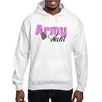 Army Aunt Hooded Sweatshirt