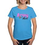 Army Aunt Women's Dark T-Shirt