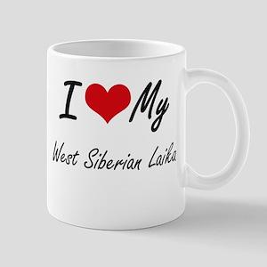 I love my West Siberian Laika Mugs