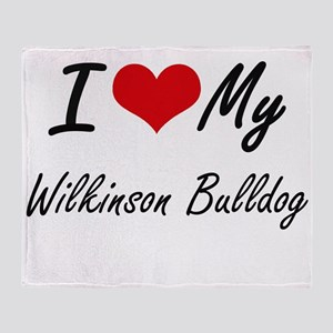 I love my Wilkinson Bulldog Throw Blanket